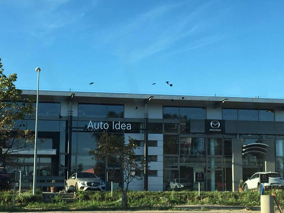 Remont salonu sprzedaż Mazda i Mercedes-Benz Auto Idea  Olsztyn